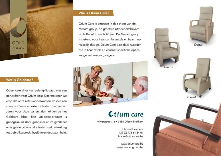 Folder Gold Care